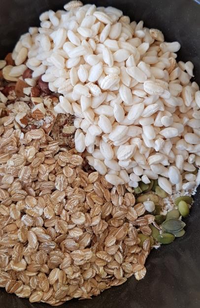 lificaionbyjo granola mix